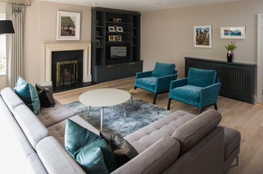 Recently Painted Living Room